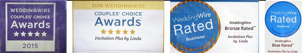 Awards awarded to Invitation Plus by Linda