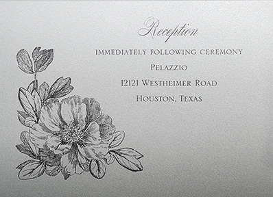 Sample wedding reply card by Invitations Plus by Linda